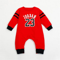 3 Colors Newborn Baby clothes Cotton Printed  Baby boy Rompers/Infants Bebes Long sleeve Coveralls For newborns