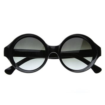 Vintage Round Fashion Model Designer Sunglasses 8288