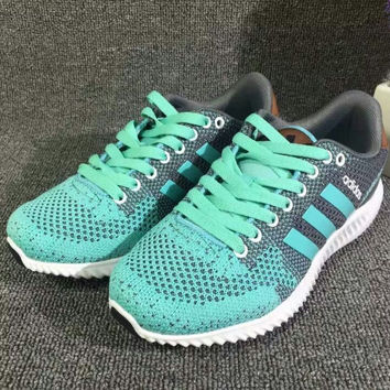 "Women ""Adidas"" Trending Fashion Knitting Leisure Running Sports Shoes"