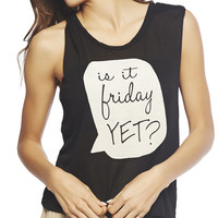 Is It Friday Yet? Tank | Wet Seal
