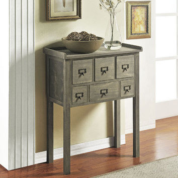 Altra Furniture 6 Drawer Accent Console Table