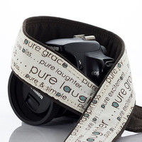 dSLR Camera strap, Pure, Canon, Nikon, Sony, SLR, Mirrorless camera, Wedding, Baby, Photography, Photographer, 215