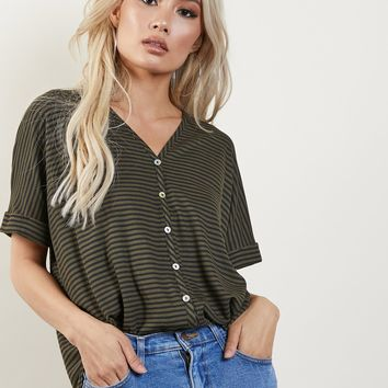 Good Impressions Striped Top