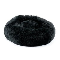 Plush Bed — Shag Black