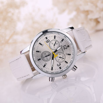 Men Watch Stylish Casual Quartz Watch [8863744519]
