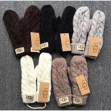 UGG Winter Knit Gloves