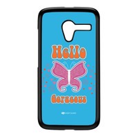 Sassy - Hello Gorgeous 10433 Black Hard Plastic Case for Moto X by Sassy Slang