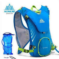 AONIJIE Men Women Outdoor Sports Lightweight Running 8L Backpack Marathon Cycling Hiking Bag With+ 1.5L Hydration Water Bag