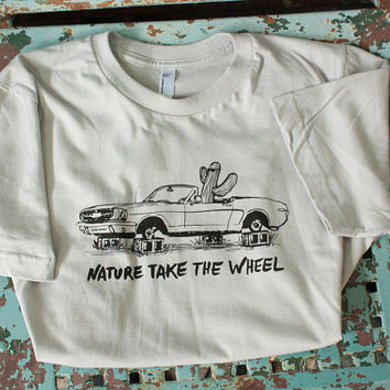 Nature Take the Wheel T-Shirt