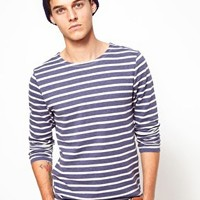 ASOS Stripe Long Sleeve T-Shirt