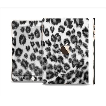 The Real Snow Leopard Hide Full Body Skin Set for the Apple iPad Mini 3