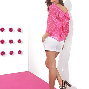 Sweet Pea - Flirty Bow Blouse - New York & Company