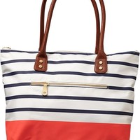 Women's Zip-Pocket Totes