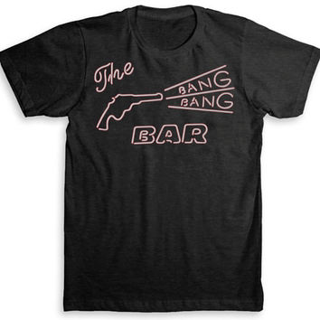 Twin Peaks T Shirt - David Lynch (Bang Bang Bar) - Tri-Blend Vintage Fashion - Graphic Tees for Men & Women