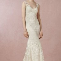 Marie Gown by Anthropologie in Ivory Size: