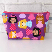 Girls Make Up Bag // Children's Wash Bag // Toiletry Bag
