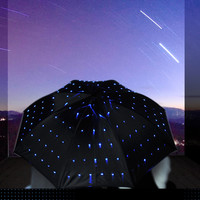 Blue LED Twinkle Umbrella
