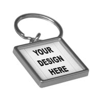 Customized Premium Square Keychain