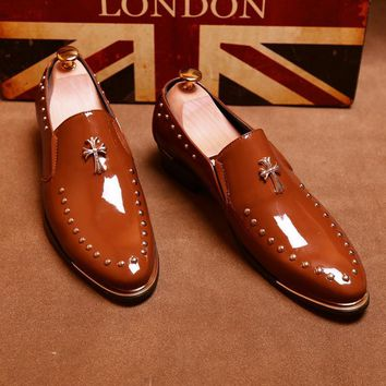 """""""The London"""" Our Handmade Patent Leather Luxury Shoe"""
