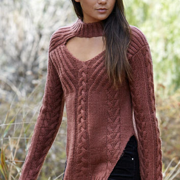 Somedays Lovin Texan Cable Knit Pullover Sweater at PacSun.com