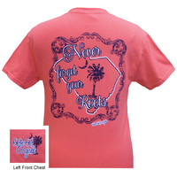 Girlie Girl Originals South Carolina Never Forget Your Roots Bright T Shirt