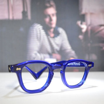 Tart Arnel James Dean Shady Character Eyewear Collection 42/22 Handmade in USA old stock 1980's vintage eyeglasses glasses