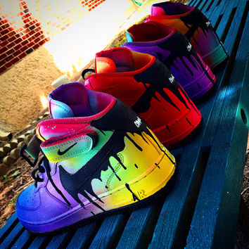 Nike Air Force 1 Neon Drip Gawds