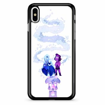 Ruby And Sapphire Steven Universe iPhone X Case