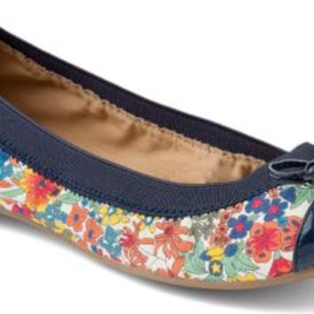 Sperry Top-Sider Elise Liberty Print Floral Ballet Flat BrightBlue, Size 9.5M  Women's Shoes