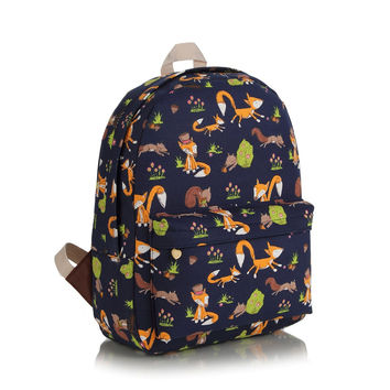 Canvas Casual Korean Backpack = 4887491204