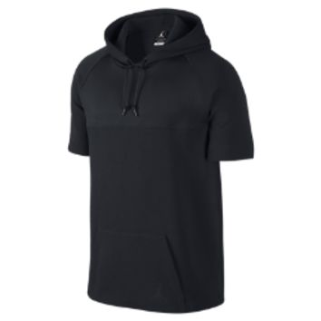 Jordan Short-Sleeve Pullover Men's Hoodie, by Nike
