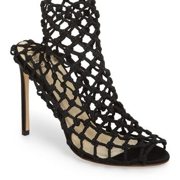 Francesco Russo Knotted Sock Bootie (Women) | Nordstrom