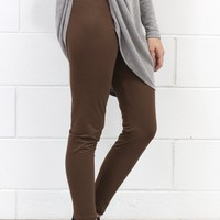 Favorite Comfy Leggings {Mocha Brown}