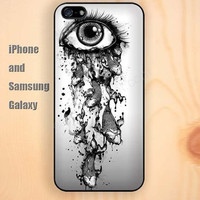 art Eye fish dream iphone 6 6 plus iPhone 5 5S 5C case Samsung S3, S4,S5 case, Ipod touch Silicone Rubber Case Phone cover Waterproof