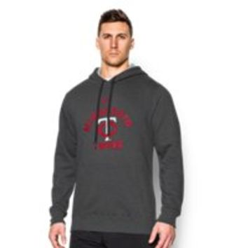 Under Armour Men's Minnesota Twins UA Rival Fleece Hoodie