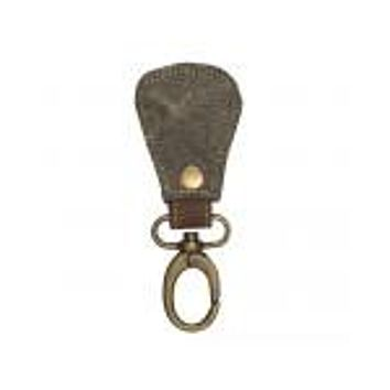 CRUSH CANVAS PEAR KEY FOB