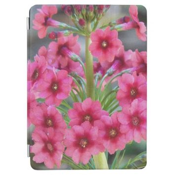 Red Primula Floral iPad Air Cover
