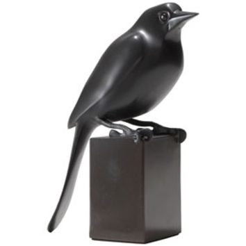 Charles Artus: Perched Bird Sculpture