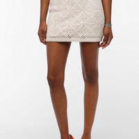 URBAN OUTFITTERS STARING AT STARS CROCHET KNIT MINI SKIRT 5 STAR REVIEWS $49