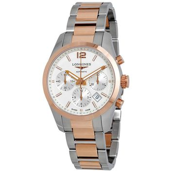Longines Conquest Silver Dial Automatic Mens Watch L27865767