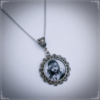 Les Miserables Poster Girl Necklace by BaroquenChord on Etsy