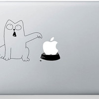 Macbook Decal Mac book Stickers Macbook Decals Apple Decal for Macbook Pro / Macbook Air / iPad / iPad2 / New ipad / iPhone 4