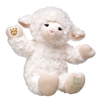 Personalized Vanilla Swirls Lamb | Build-A-Bear