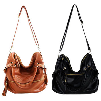 Pu Leather Handbag Cross Body Bag