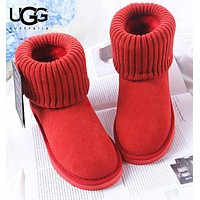 UGG Autumn And Winter Fashion New Keep Warm Women Shoes Boots