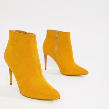 New Look Pointed Heeled Boot at asos.com