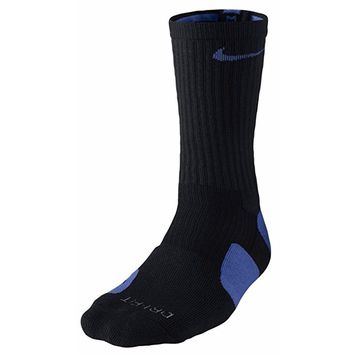 Nike Men`s Dri-FIT Elite Basketball Crew Socks