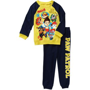 Baby Boy Clothes Spring Autumn Suits Toddler Long Sleeve T-shirt Top Sets Children 2pcs pants Funny Cartoon tiny cotton Clothing