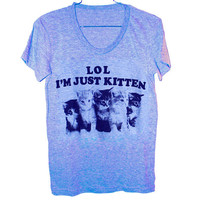 Just Kitten T-Shirt (Select Size)