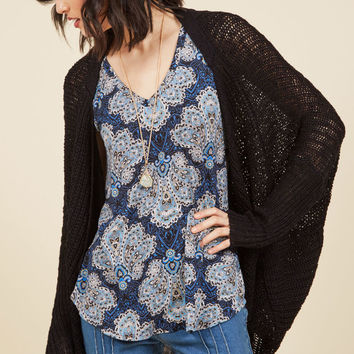 Laid-Back Atmosphere Cardigan in M
